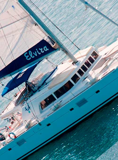 Catamaran Elvira Lagoon 500 Yacht Charter Greece