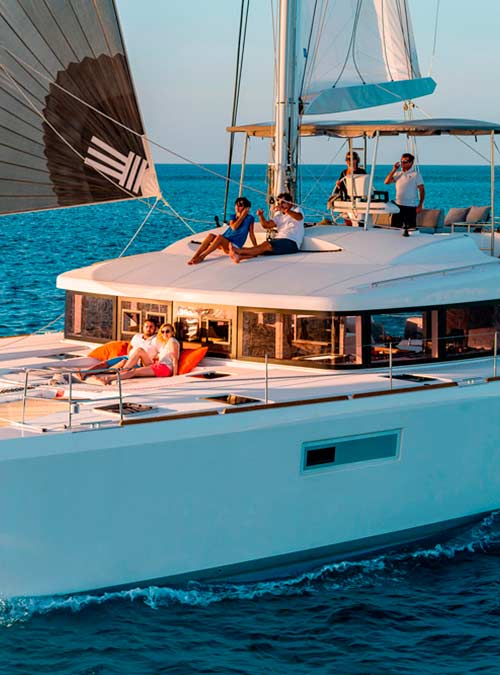 Catamaran KEPI Yacht Charter Greece